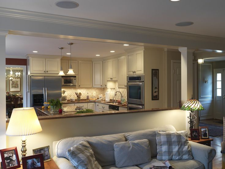 Looks Beautiful For Opening Up The Kitchen, Dining Room