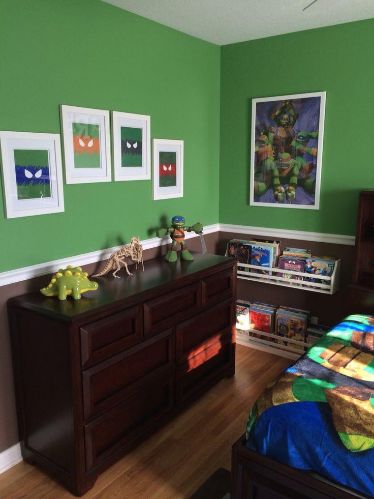 Ninja Turtle Bedroom