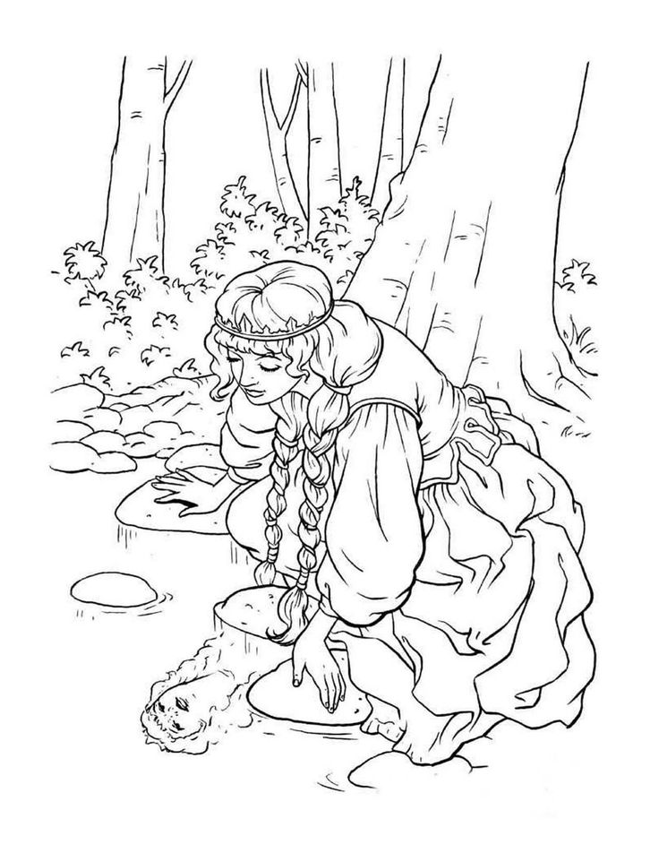 54 best images about Queen and Princess Coloring Pages on