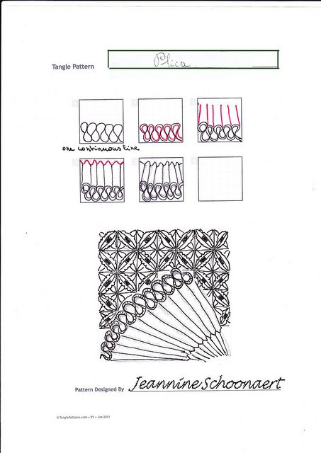 1000+ images about ZenTangle Instructions /Steps /How To