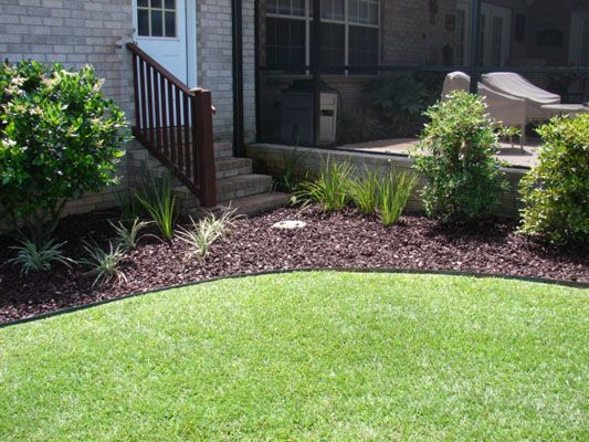 landscape rubber mulch