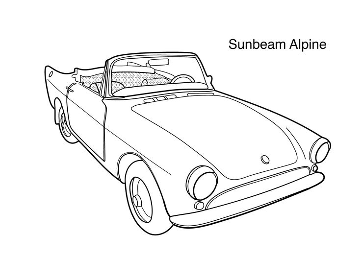 17 Best images about Super cars coloring pages on