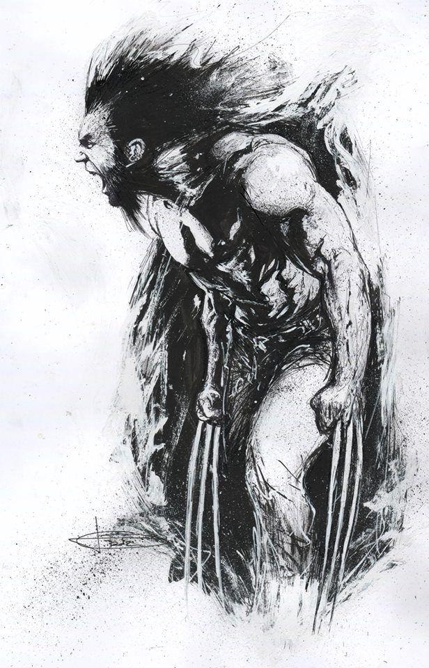 Wolverine By Gabriele Dell'otto  Loganwolverine