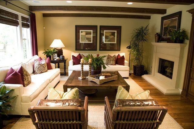 tropical decorating ideas  Elegant Tropical Interior Decor Tropical House Interior Design