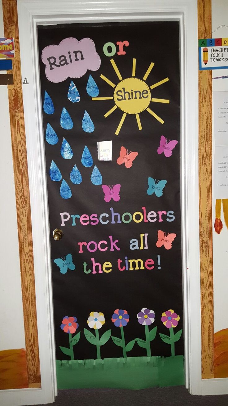 313 best images about Preschool door decorating ideas on