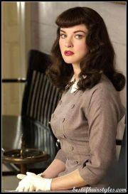1940s nurse hair styles bangs