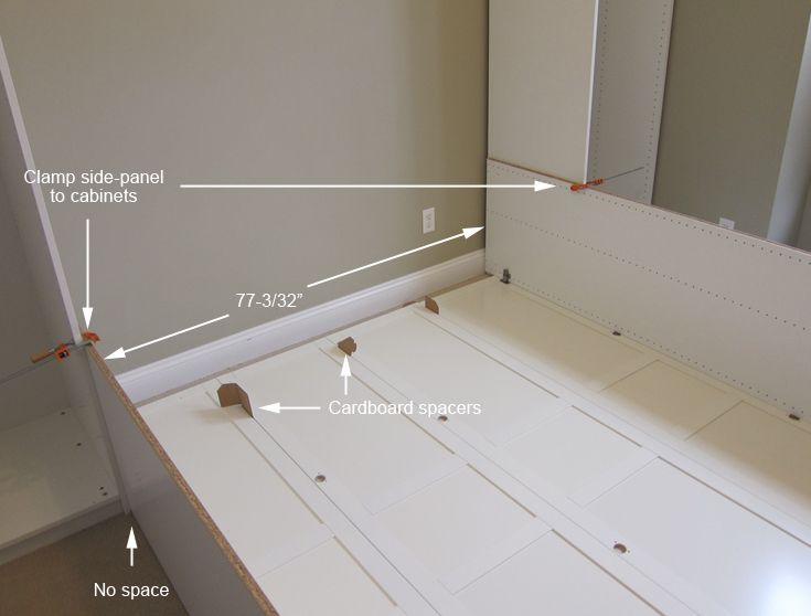 Instructions On How To Make Murphy Bed From Ikea Cabinets