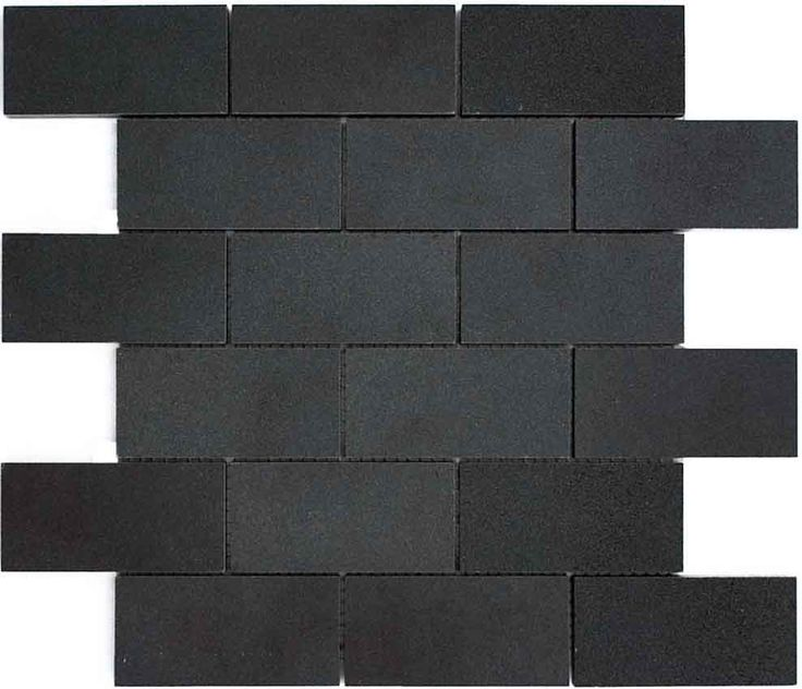 Subway Tile Matte Black Coffee Bar Counter
