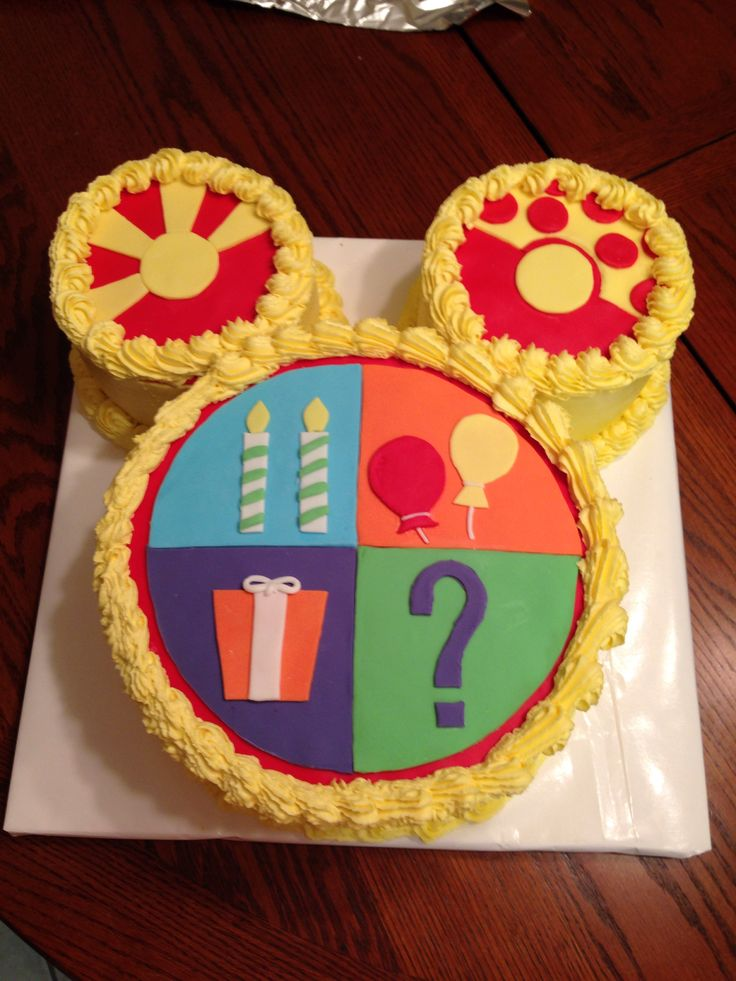 Micky Mouse Clubhouse Toodles Cake Cupcakes Cakes