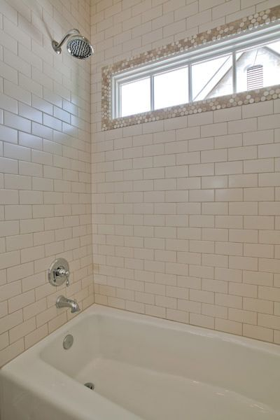 Love the transom window in the bathroom  Beautiful Baths
