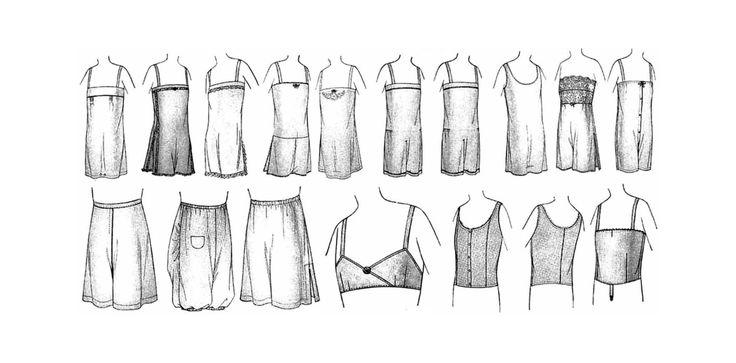 Steampunk Underwear Lingerie Book PDF Download Flapper