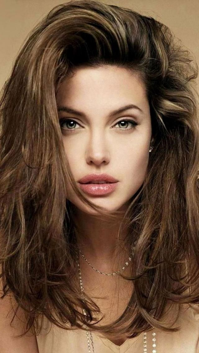 Angelina Jolie – Long Hair | Makeup | Hair Extensions | Hair Color | Beautiful Women | Sexy Girls | Ciao Bella Hair | Venus Hair |