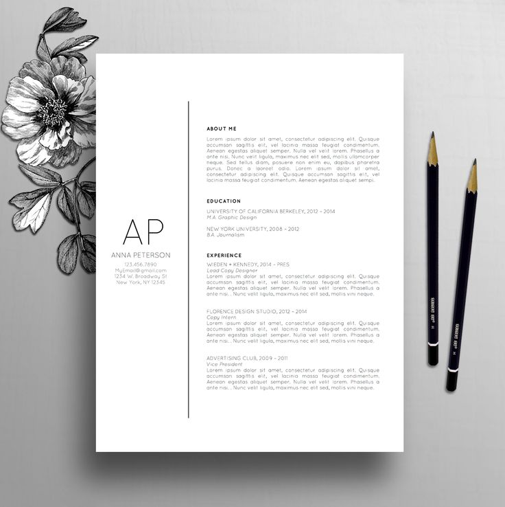 25 best Cover Letter Design ideas on Pinterest  Creative cv Layout cv and Creative cv template