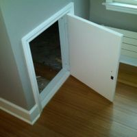 Exterior Crawl Space Access Door