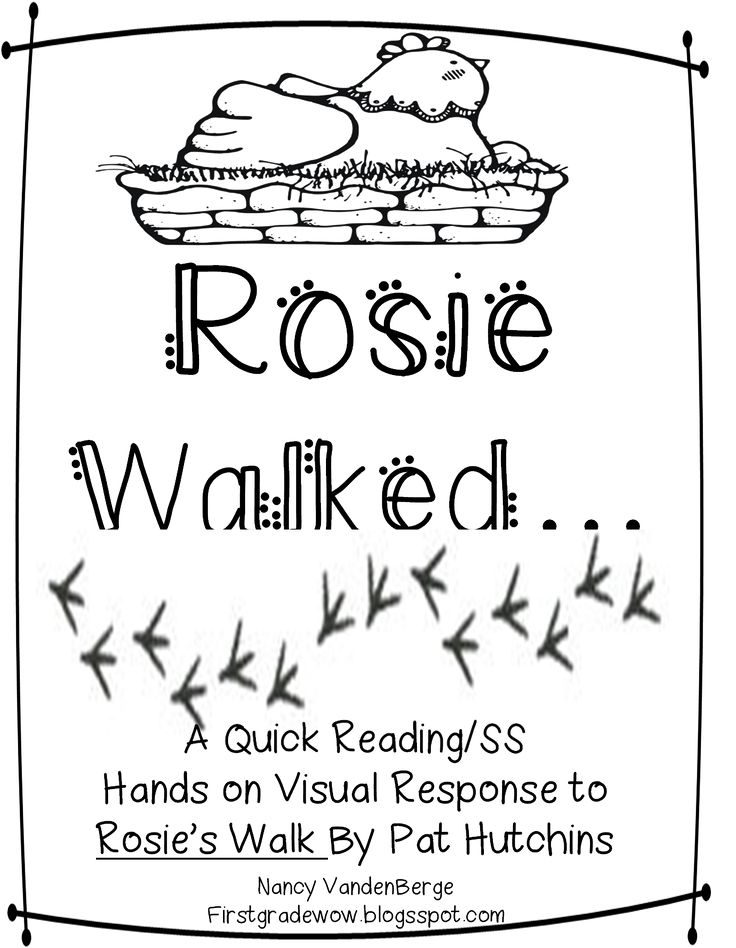 First Grade Wow: Understanding Community Through Rosie's