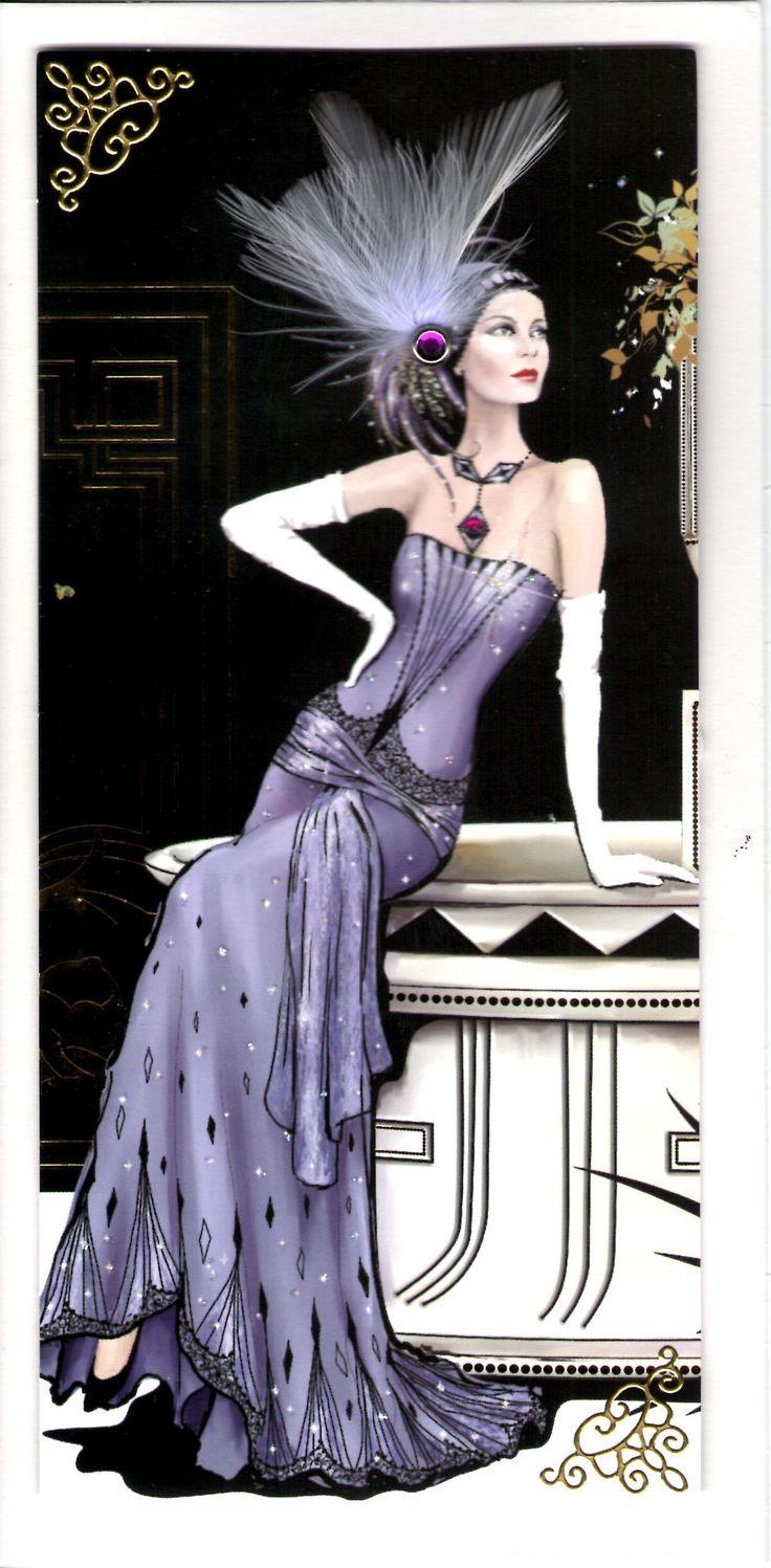 25 Best Ideas About Art Deco Cards On Pinterest Art