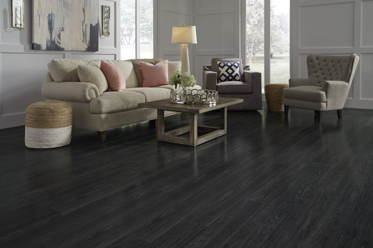 Rock Creek Charcoal  a Dream Home Laminate  Floors