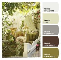 'French Country Garden' Paint colors from Chip It! by ...