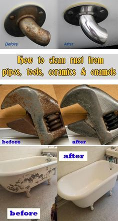 1000 Ideas About Clean Rust On Pinterest Cleaning