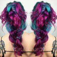 Best 25 Unnatural Hair Color Ideas On Pinterest Hair Dye ...
