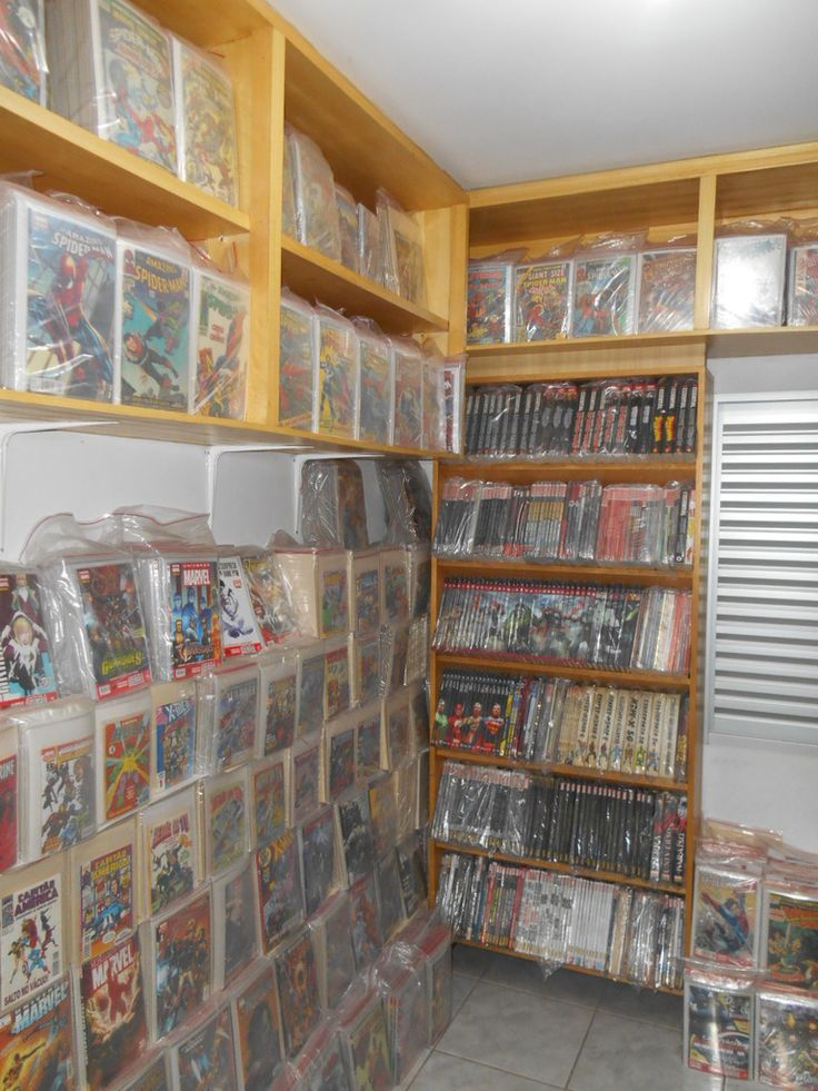 52 best images about Comic Book Storage & Display Ideas on