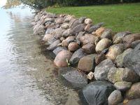 lakefront retaining wall | Cabin Rock Wall Ideas ...