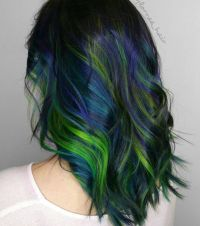 Peacock Hair Color Pinterest