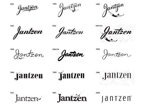 17 Best images about Brand Logo Evolution on Pinterest