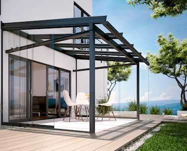 25 Best Ideas About Terrassendach Glas On Pinterest Selber