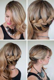 1000 ideas side swept curls