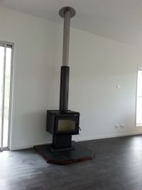 82 Best images about Wood Heater Installations on