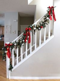 1138 best images about Christmas Staircase on Pinterest