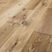 RUSTIC COTTAGE OAK BRUSHED & LACQUERED ENGINEERED WOOD ...