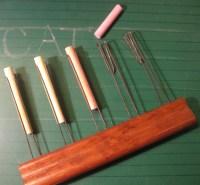 Vintage teachers chalk holder multi line maker music ...