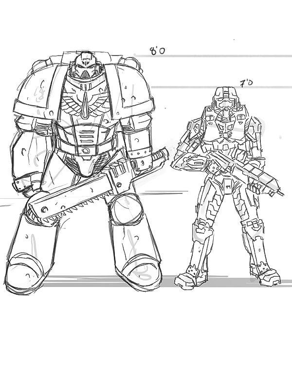 Halo 4 Spartan Warrior Armor