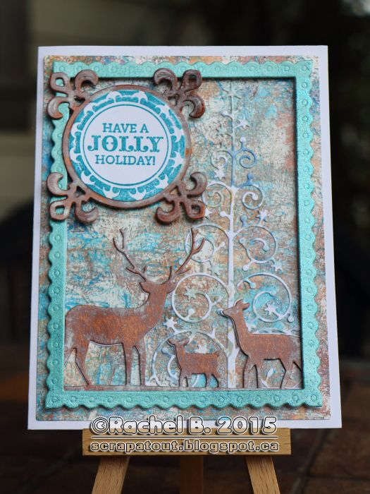 89 Best Images About Cards Memory Box Deer Trio On