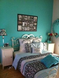 Blue Paris Theme Bedroom Paint Designs Blue-paris-themed ...