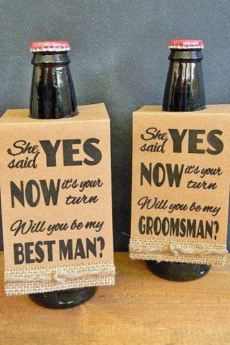 "18 Groomsmen Proposal Ideas ""Will You Be My Groomsman"