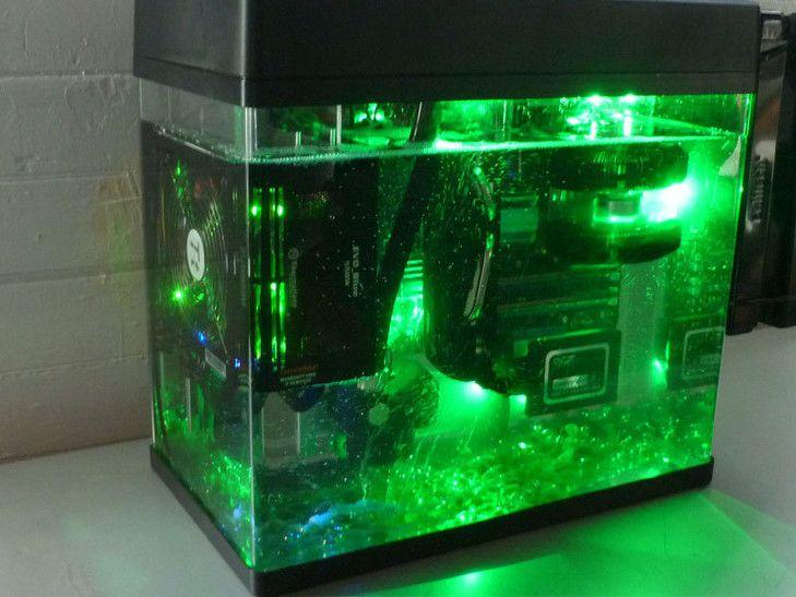 Oil Submerged HTPC Mark II  Custom PC Builds  Pinterest