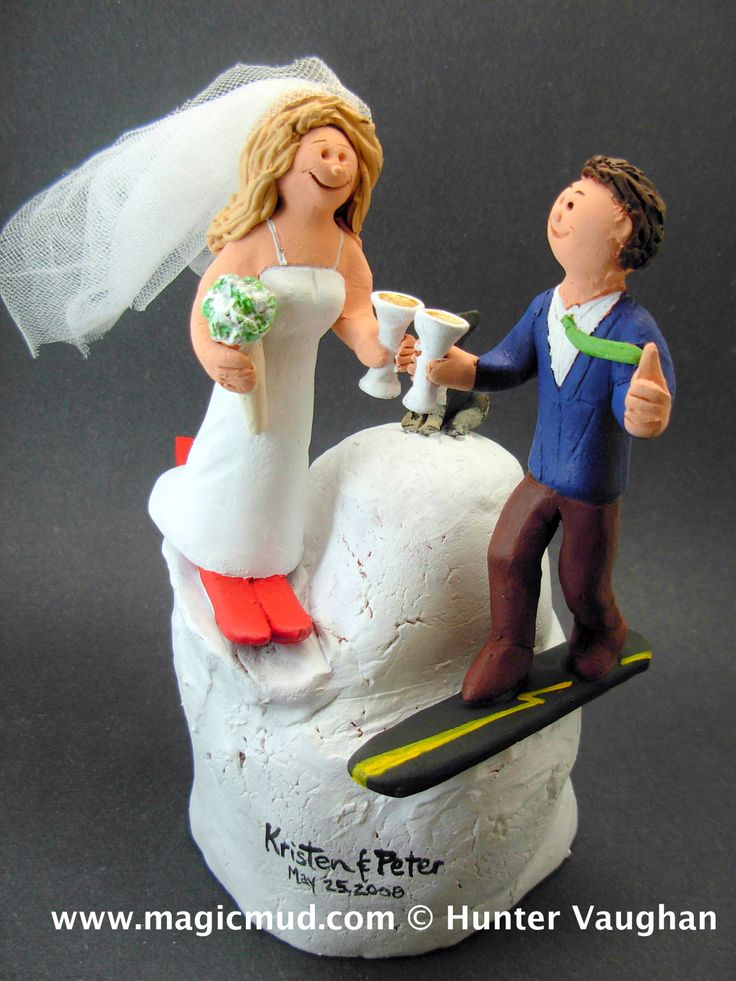 1000 Images About Skiing And Snowboarding Wedding Cake
