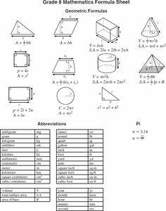 1000+ ideas about Geometry Formulas on Pinterest