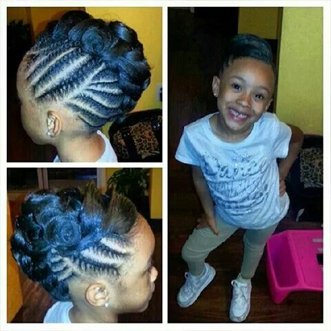 186 Best Images About 2 Girl's Natural Hairstyles On Pinterest
