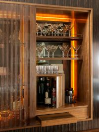 Luxury Interior Design:Bar Cabinet For more inspirations