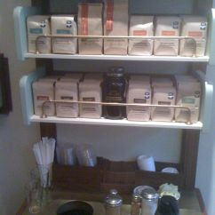 Kitchen Shelving Ideas Hotels With Kitchens In Vegas Coffee Shop Condiment Station - Google Search | ...