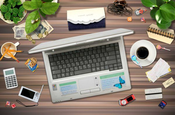 Top Websites For Iphone X Wallpaper Messy Desk Surface Psd Layered Material Cosas