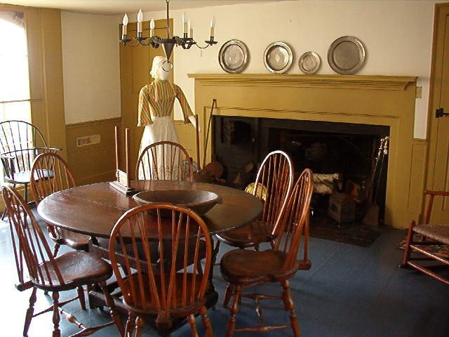 Summer Kitchen  Prim  Colonial Kitchens and Diningrooms
