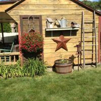25+ best ideas about Rustic shed on Pinterest   Country ...