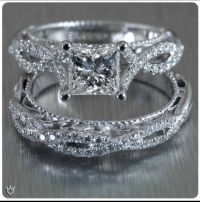 Verragio engagement ring and wedding band. might be too ...