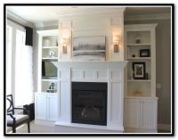 25+ best ideas about Shelves Around Fireplace on Pinterest ...