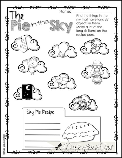 Long vowels, Worksheets and The sky on Pinterest